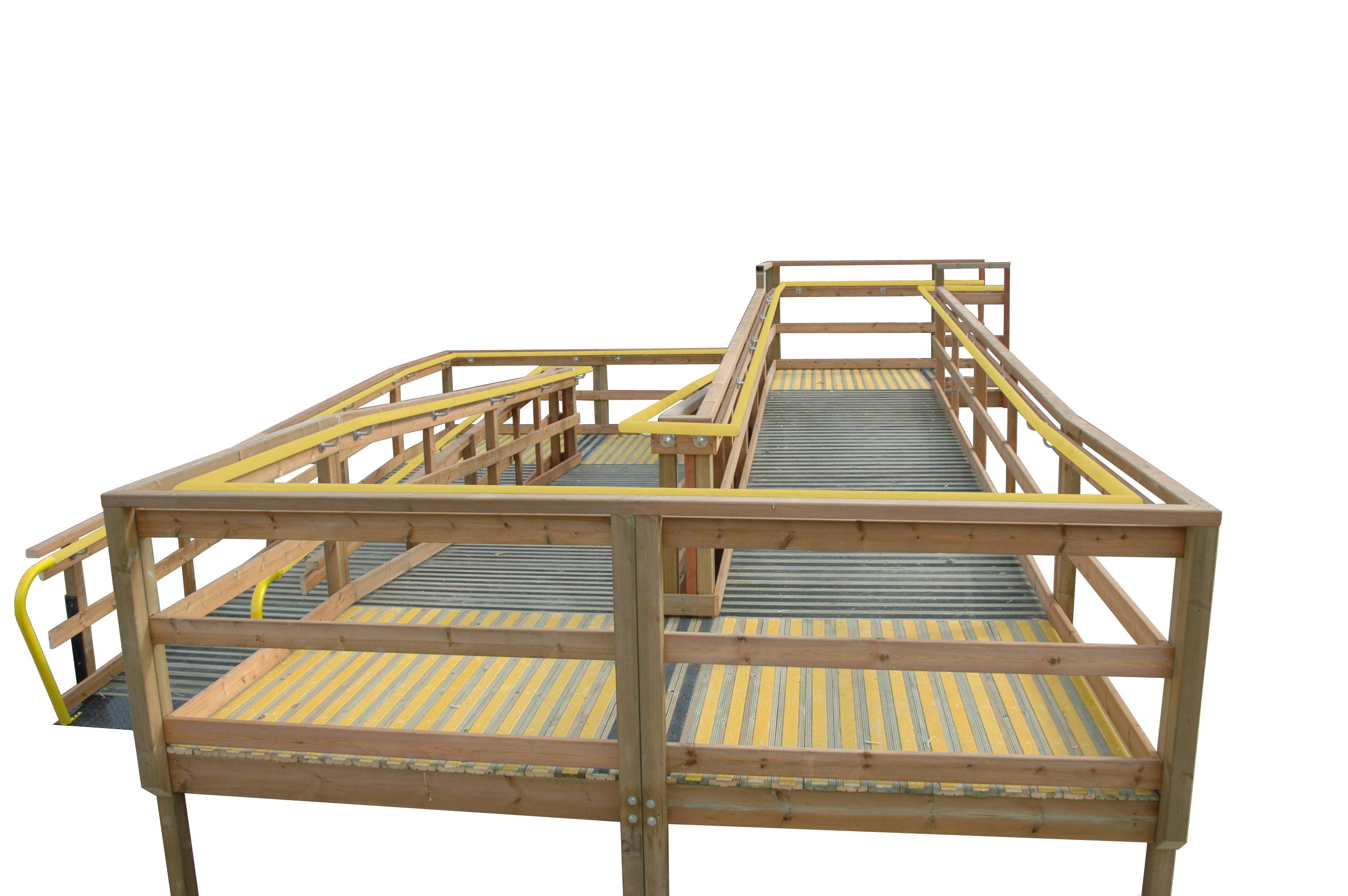 Aggredeck® steps and ramps decking full ramp