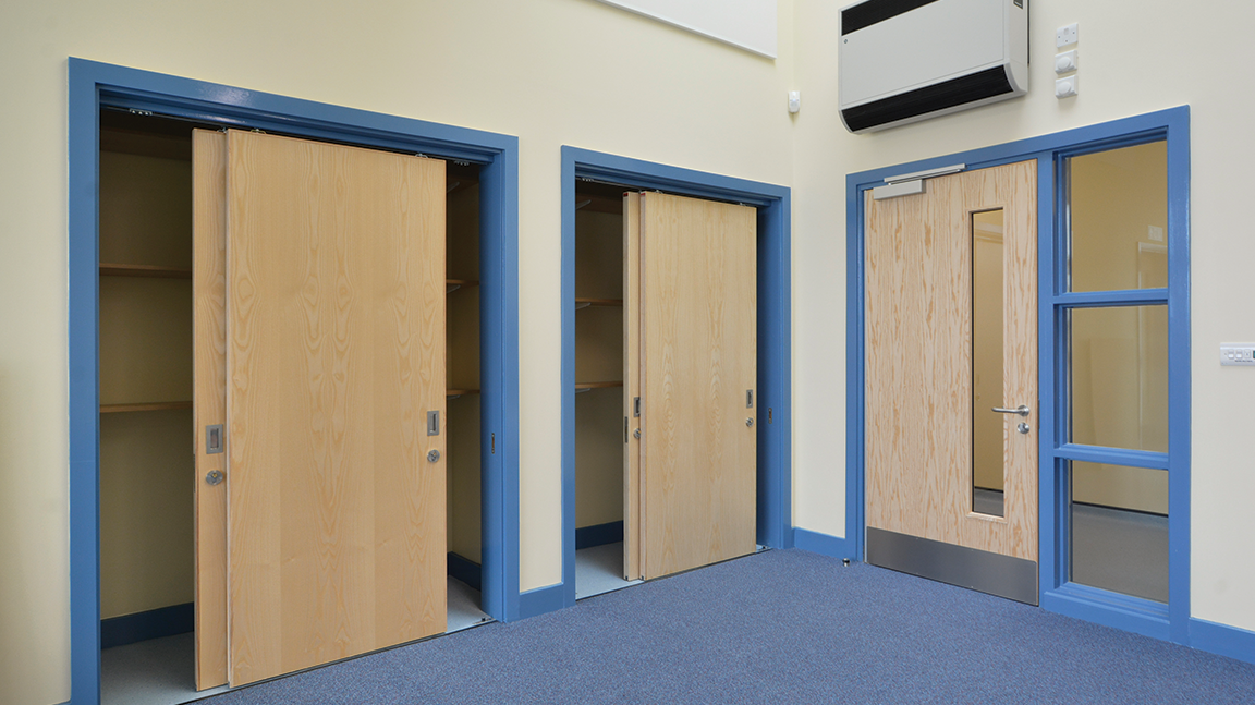 Internal fire doors vision panels and screen